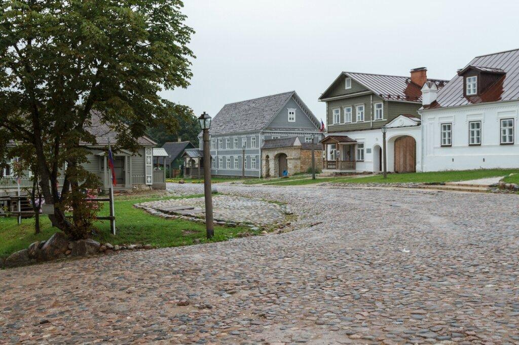 Дом купца Шведова и здания по Печорской улице