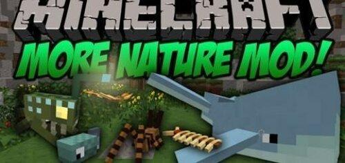 Mод More Nature для Minecraft 1.7.2