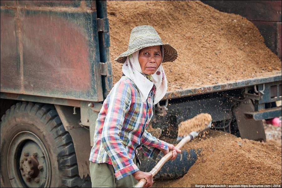 Ручной труд в Китае