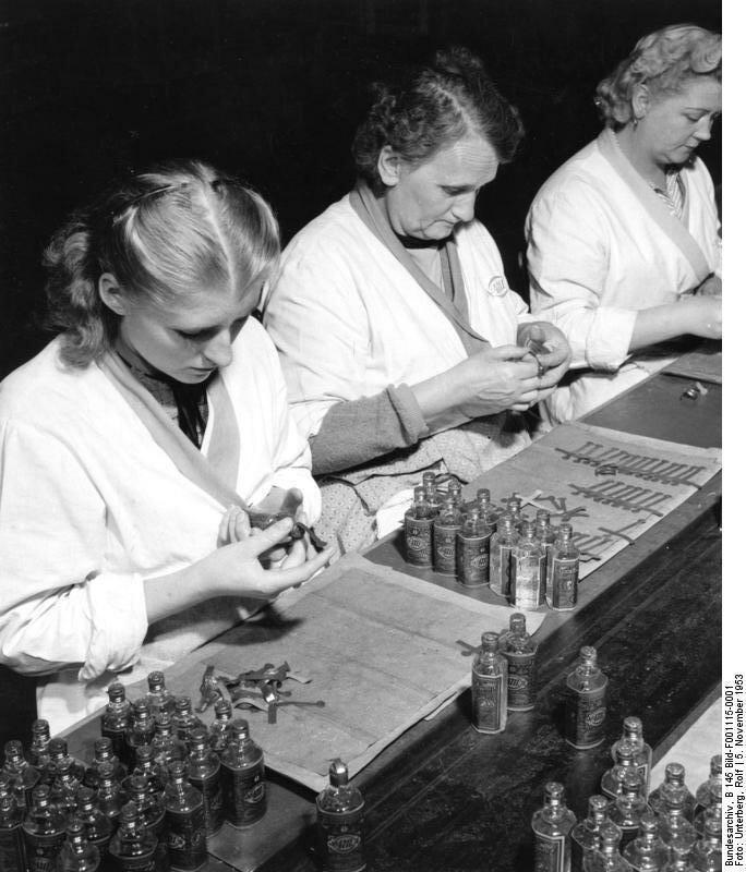 Kцln, Eau de Cologne und Parfьmerie Fabrik 4711