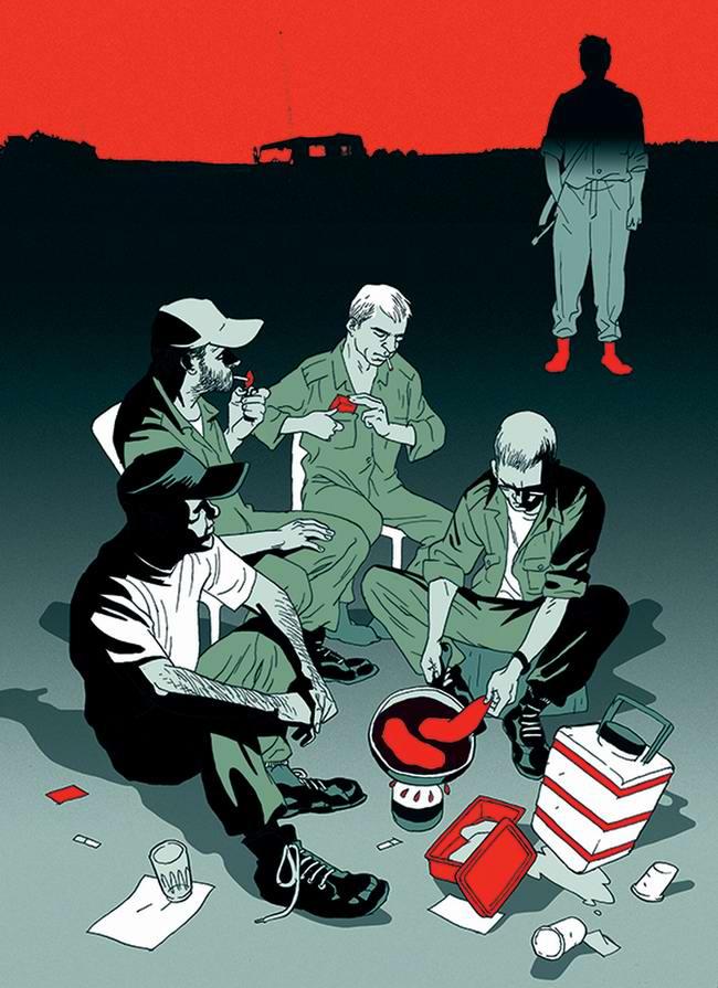 Социальный арт от иллюстраторов Asaf и Tomer Hanuka (Израиль) (17)
