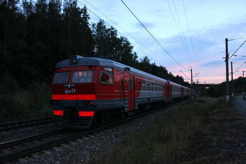 ЭД4-0010 на станции Манихино-2