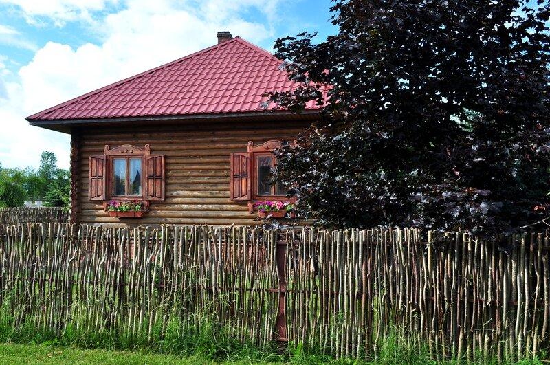 """""""Белорусская деревня"""" в Могилеве"""