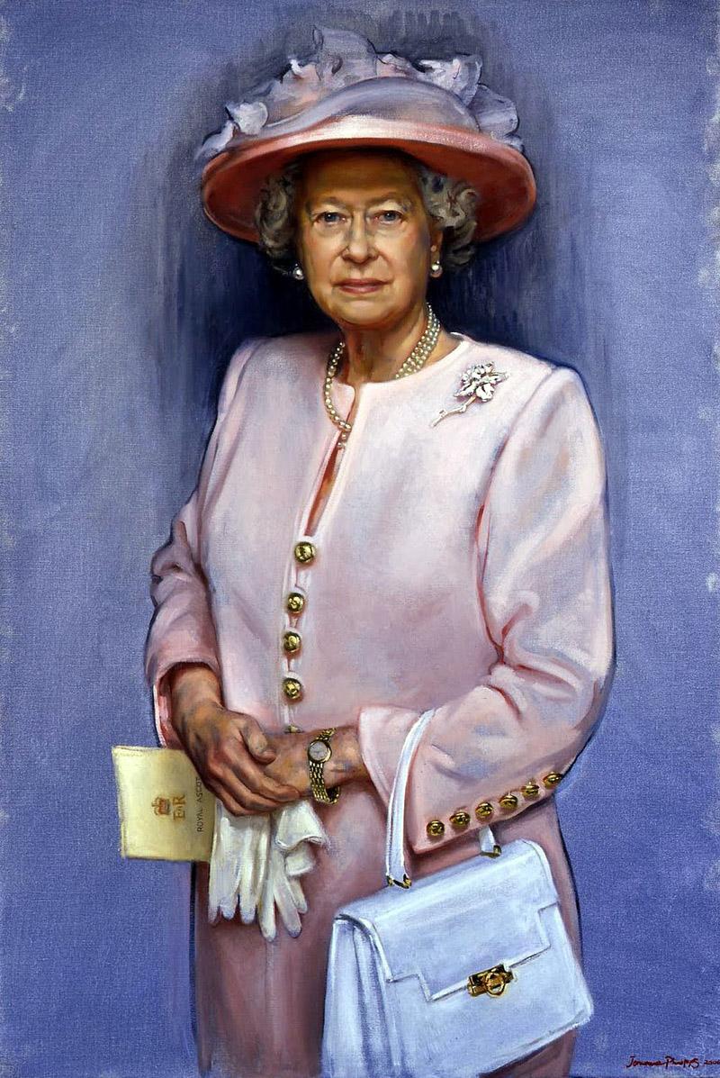 Her Majesty Queen Elizabeth II (b.1926) by Jemma Phipps, 2006