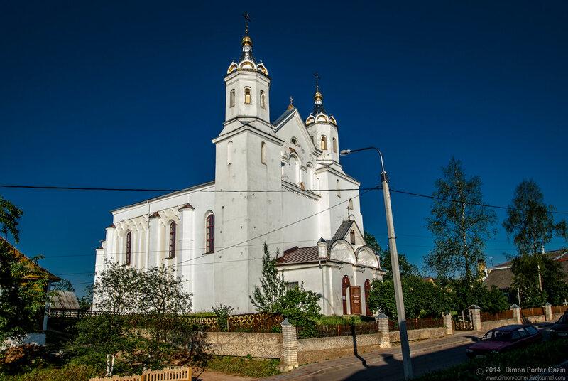 Новогрудок. Борисоглебская церковь