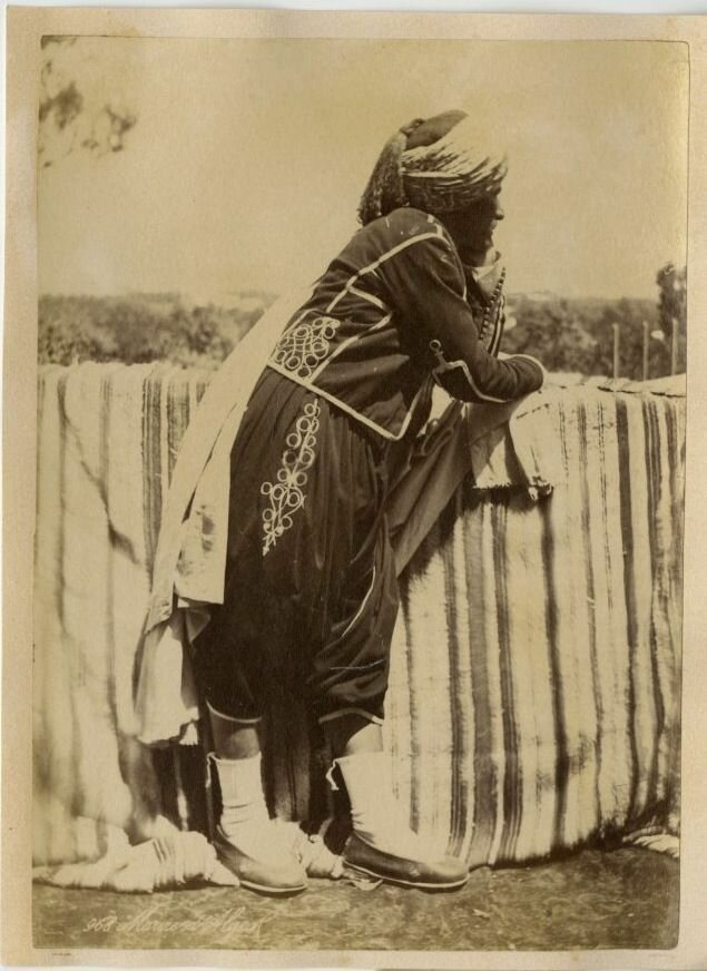 1875. Алжирский мавр