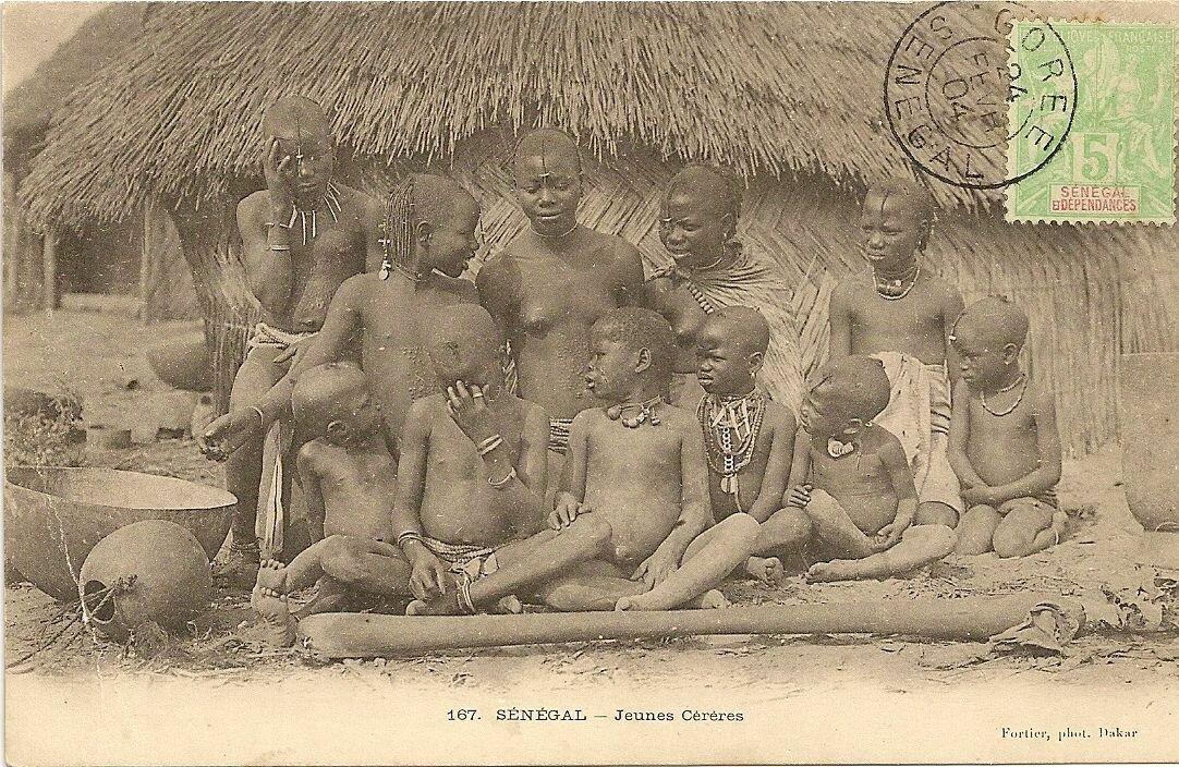 167. Сенегал. Молодые гереро