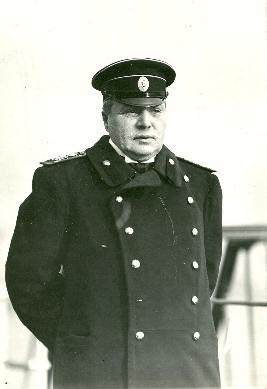 21. Флаг-капитан императора Николая II, адмирал К.Д.Нилов