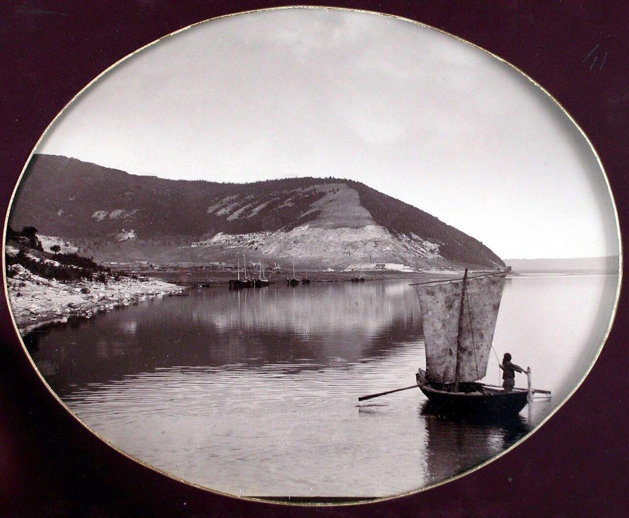 20. Вид на Жигулевские горы со стороны р. Волги