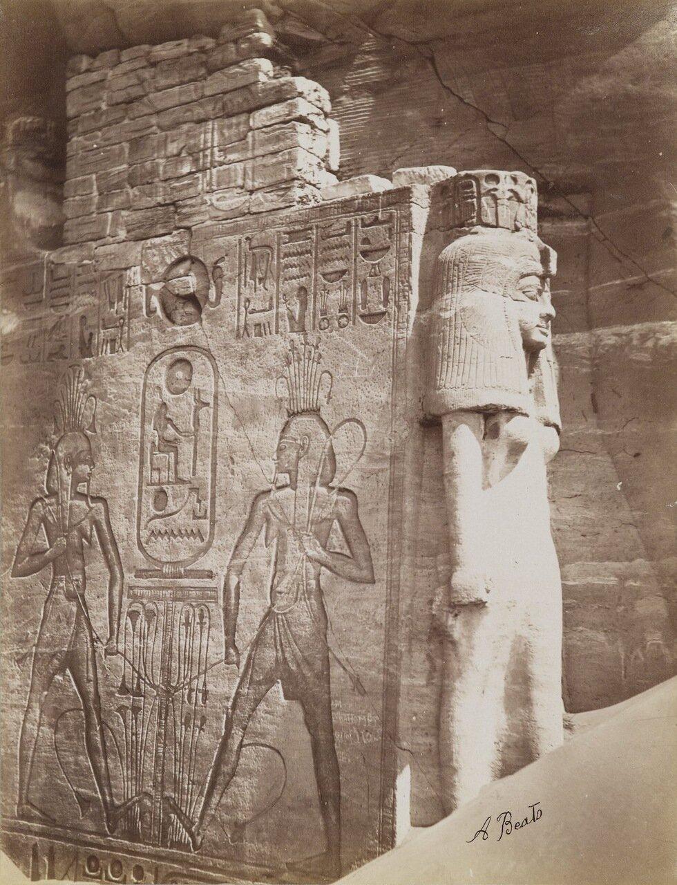 Храм в Абу-Симбел