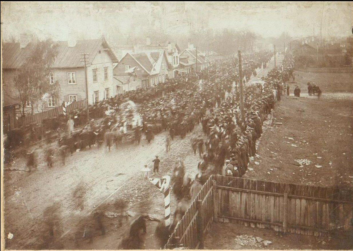 Похороны. 1905