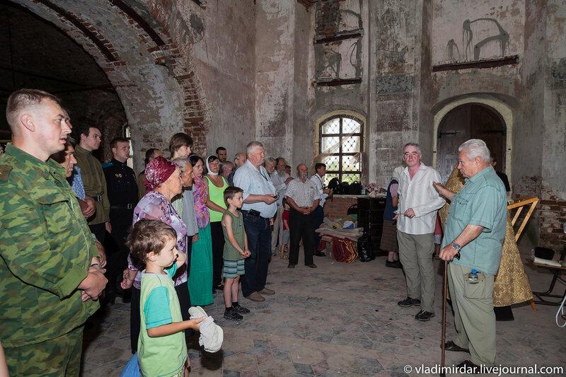 Генерал Черкасов рассказывает о храме Василия Великого