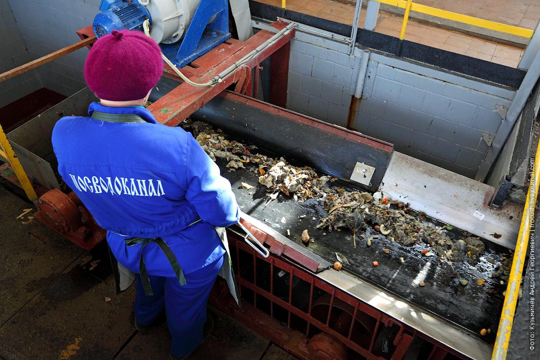 мусор отбросы с решеток очистка хозяйственно бытовых сточных вод в москве