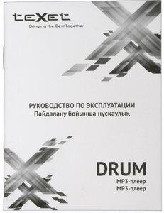 Инструкция к плееру teXet Drum