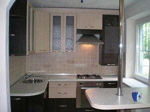 Обустройство интерьера небольшой кухни