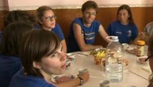 Каникулы итальянцев в Молдове - помощь пенсионерам