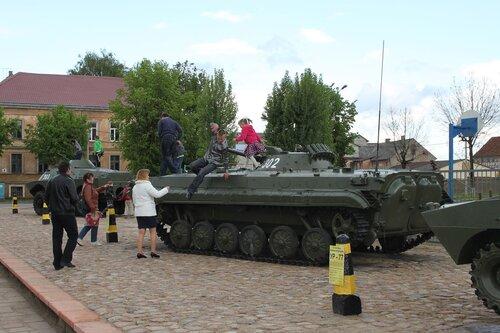 Аллея воинов-интернационалистов. Советск