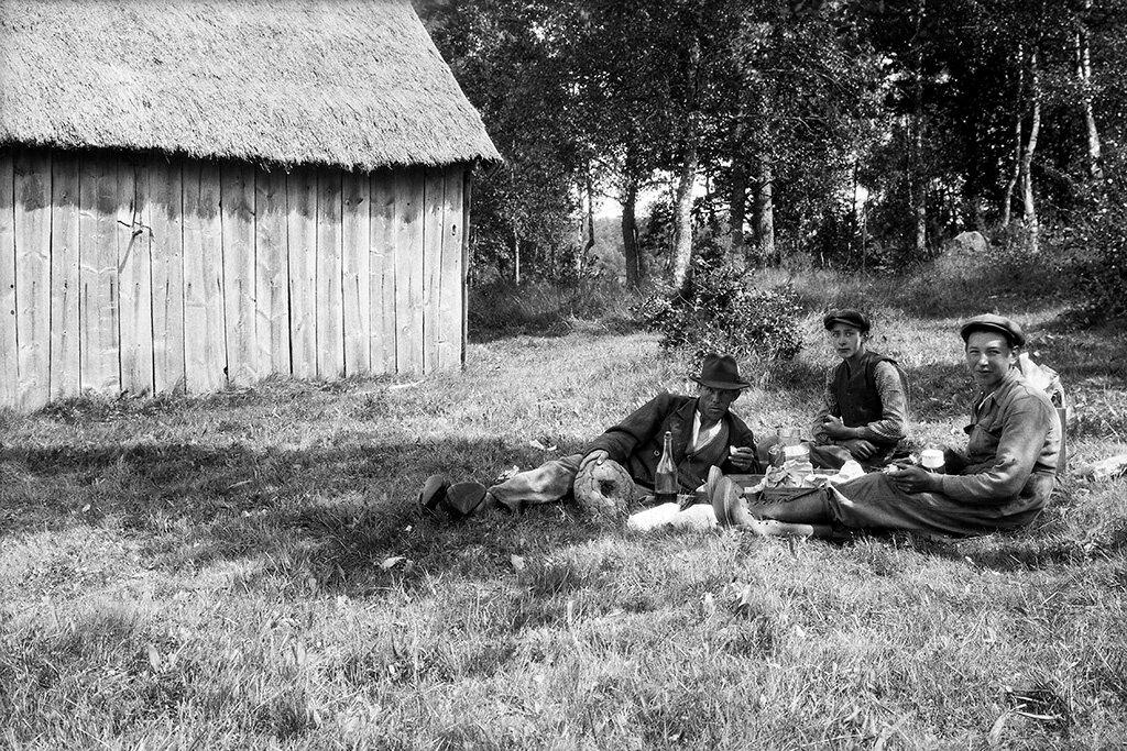 Kronoberg, Alvesta, Lekaryd, Småland, Miljöer-Bymiljö-Jordbruksby, Övrigt-Personer