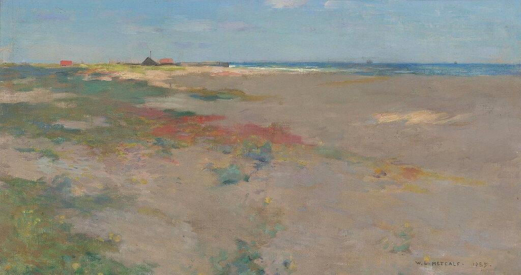Willard Leroy Metcalf - On the Suffolk Coast, 1885.jpeg