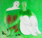 """Двое"", х., м. 100x110 2006"