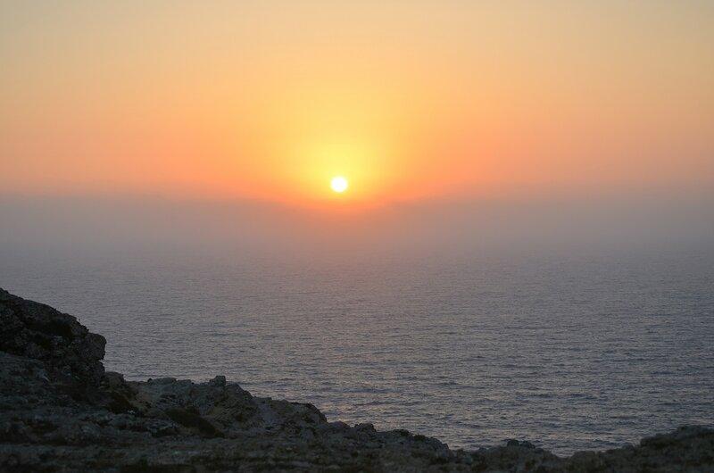 закат в Сагреше