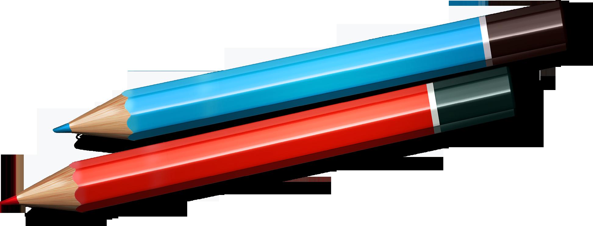 Цветные карандаши картинка на прозрачном фоне