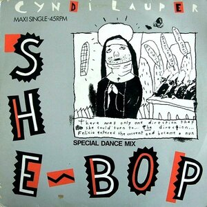 Cyndi Lauper – She Bop (Special Dance Mix) (1984) [Portrait, PRTA 12.4620]