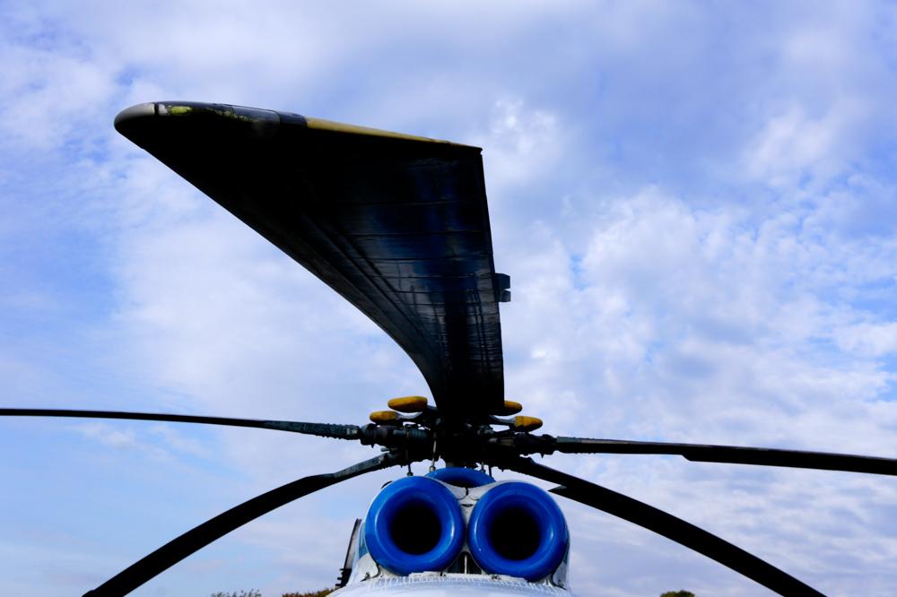 вертолет над Питером