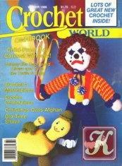 Журнал Crochet world omnibook winter 1986
