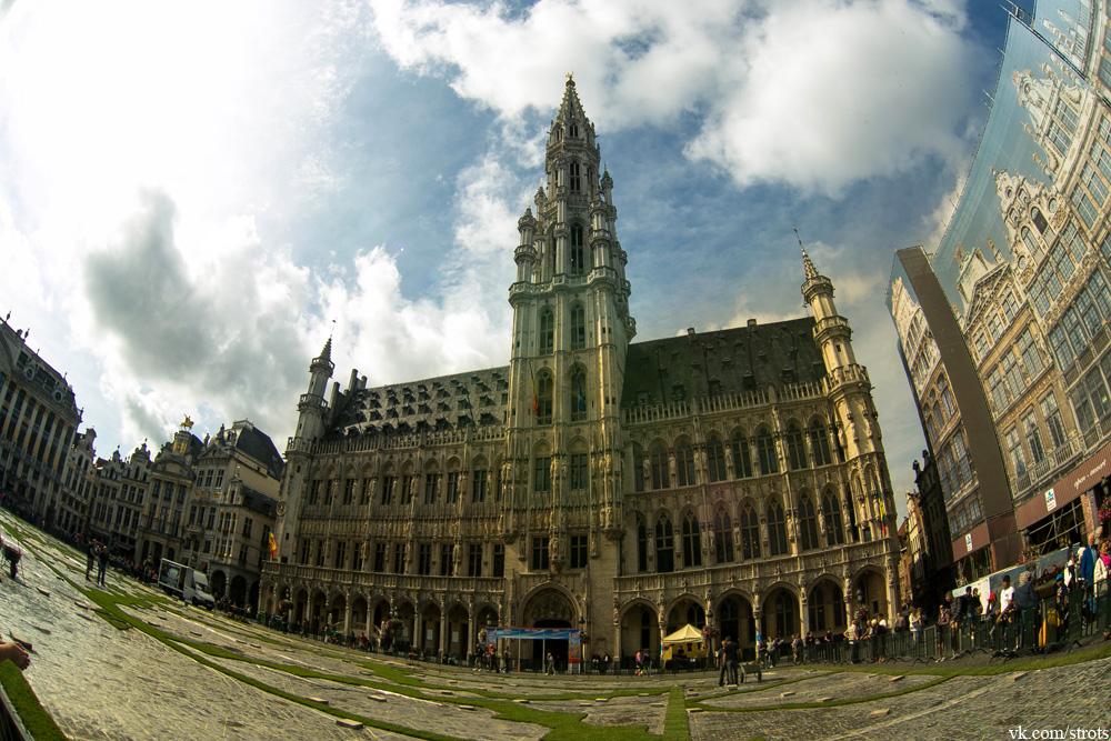 Брюссель, ратуша