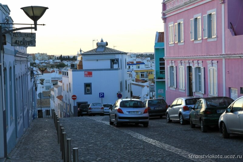 Улочки старого Лагуша, Португалия