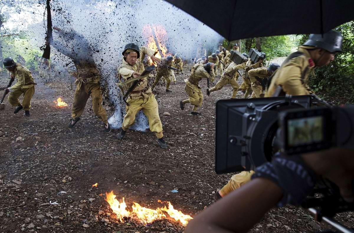 Война и немцы: На съемках китайского телесериала о 2-й мировой войне (1)