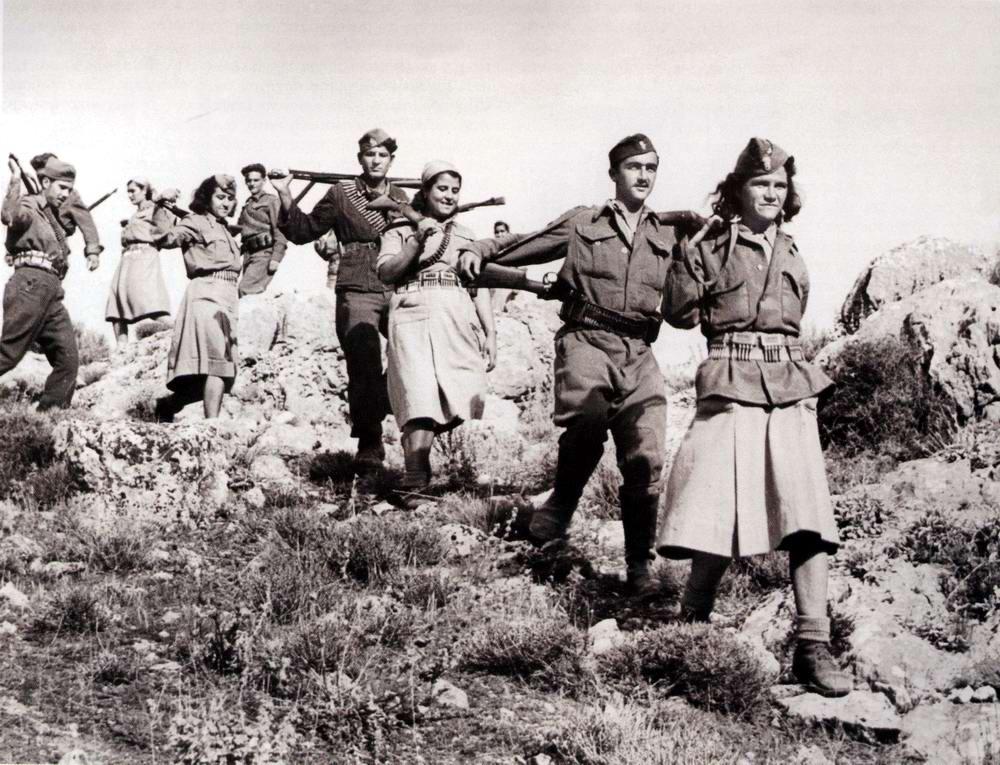 Греческие партизаны (1942 год)
