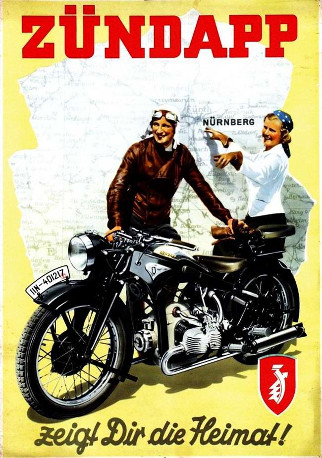 Zundapp - Германия (1936 год) - 2