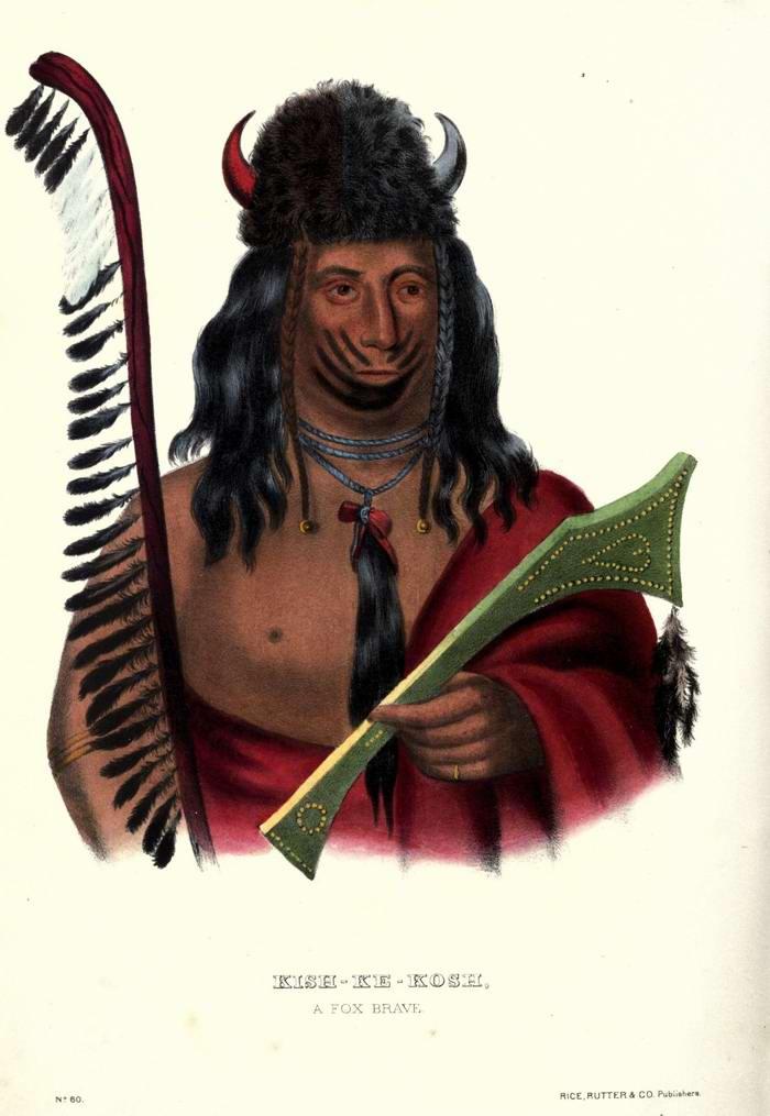 Воин племени Fox