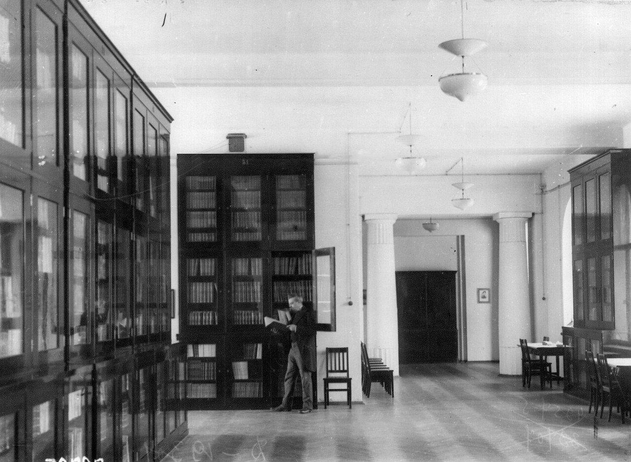 08. Библиотека Ботанического сада. 1913