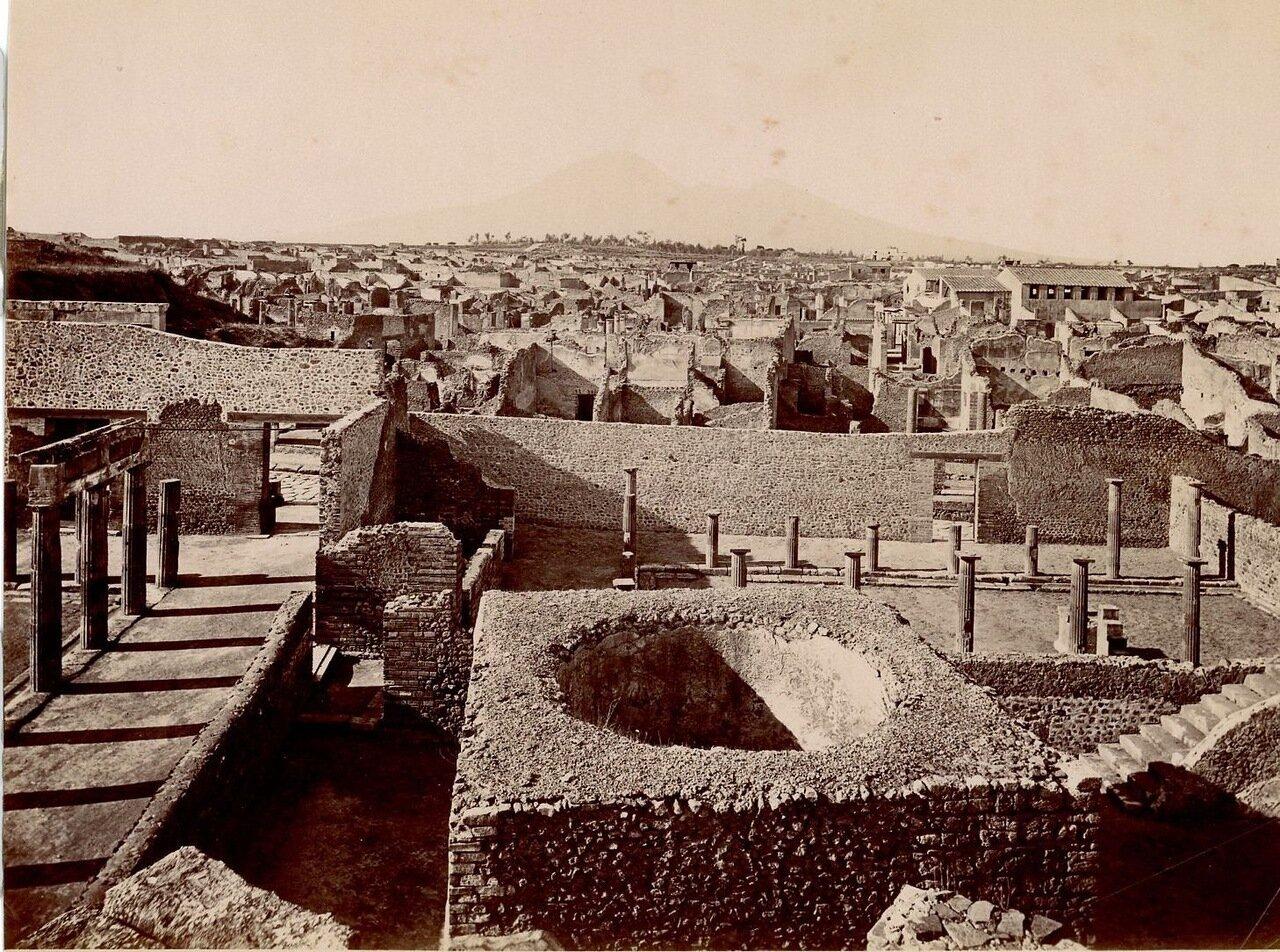 1875. Панорама Большого театра
