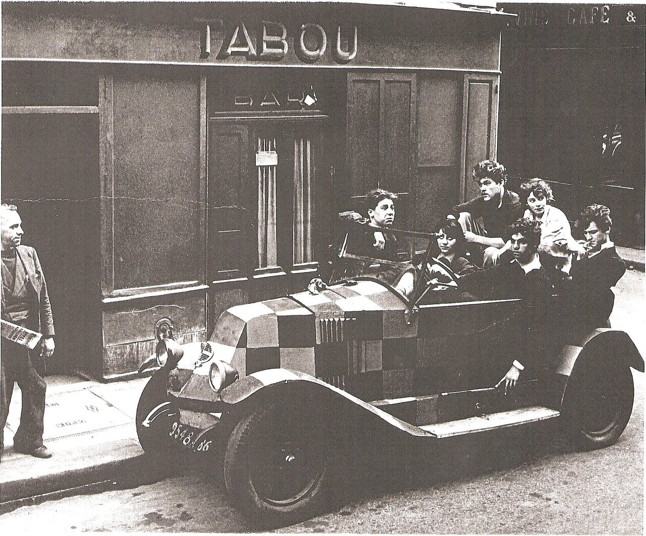 1947. Джаз-клуб «Табу»