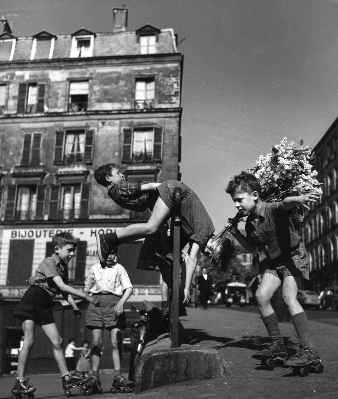 1956. Дети квартала Менильмонтан