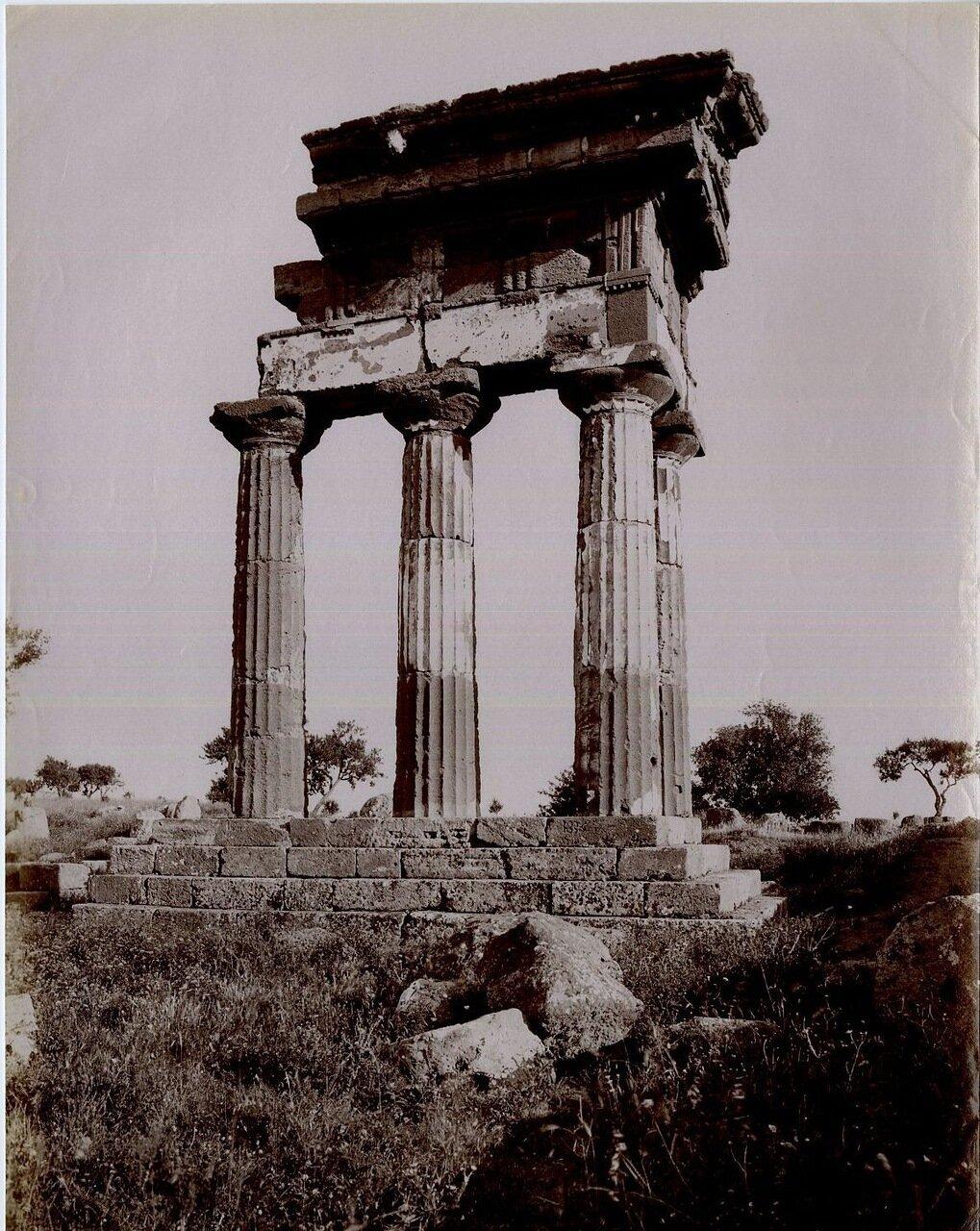 Агригентум. Храм Кастора и Поллукса