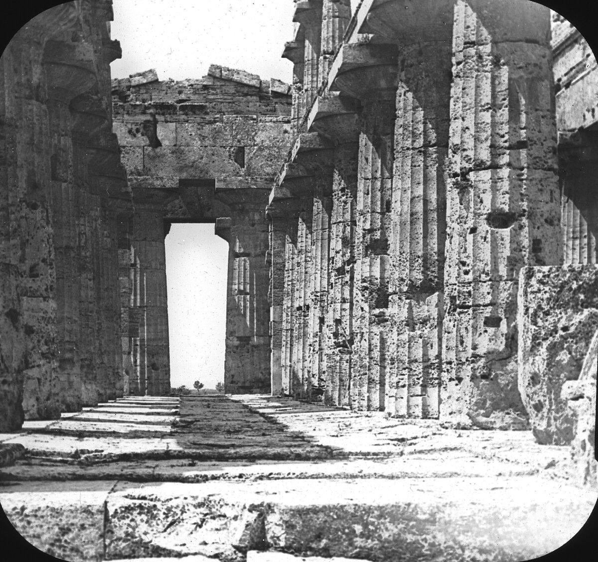 Пестум. Храм Цереры