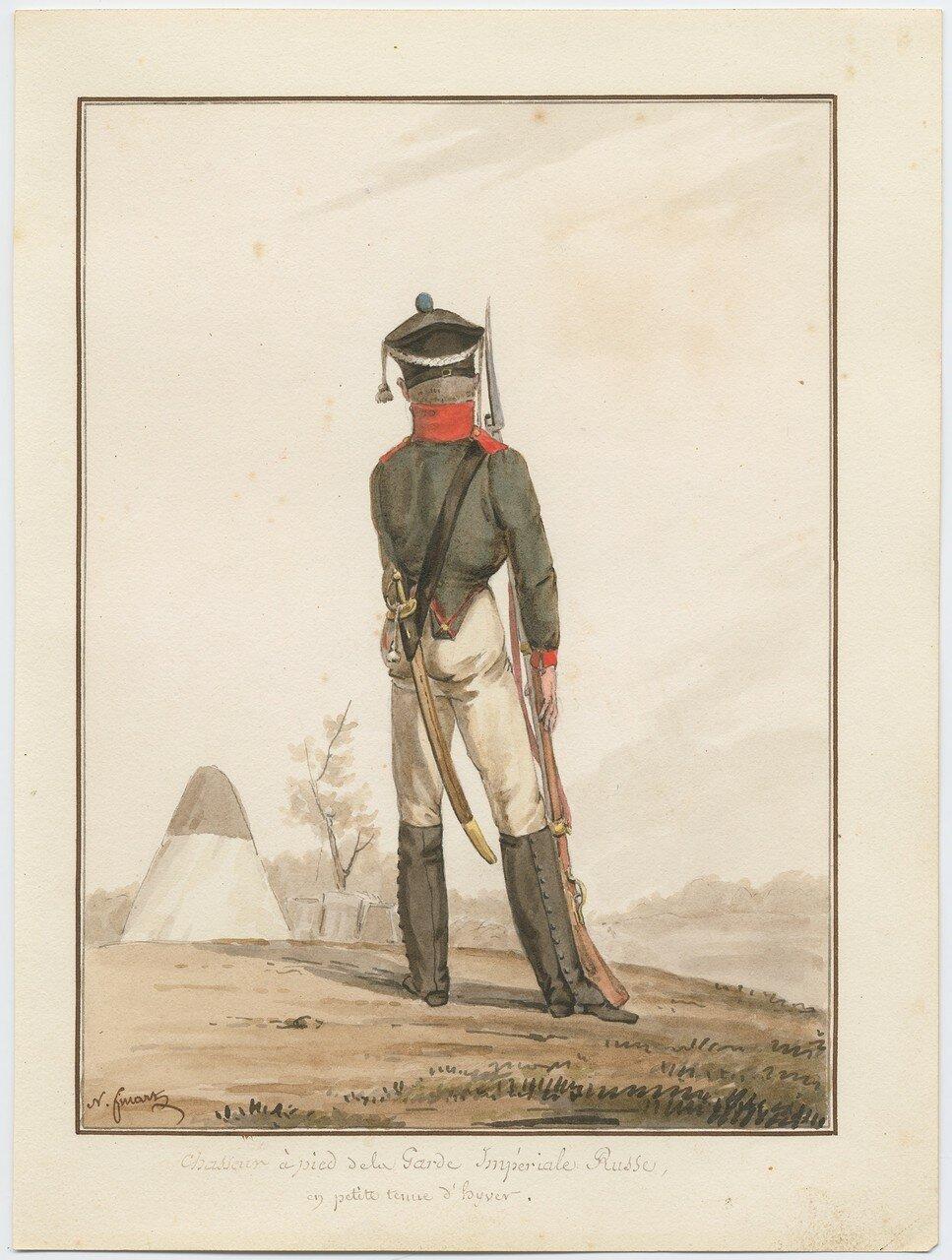 Фузилер гвардейского полка русской армии, 1815
