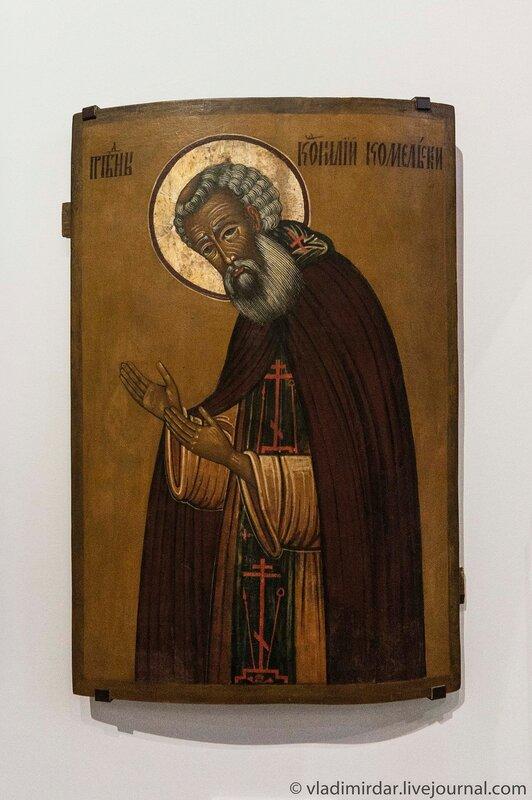 Икона «Преподобный Корнилий Комельский»
