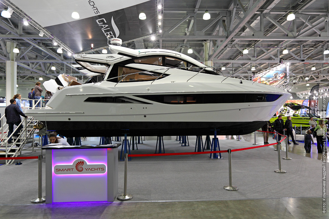 выставка катеров и яхт крокус экспо Galeon 390 Htc