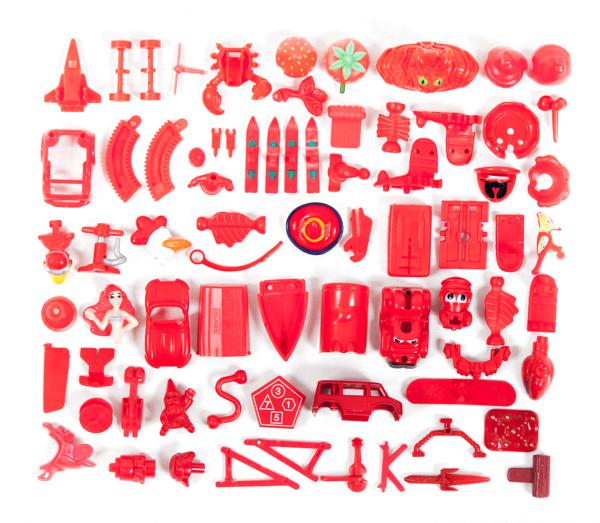 Kinder Surprise collection sorted, Aline Houdé-Diebolt.jpg