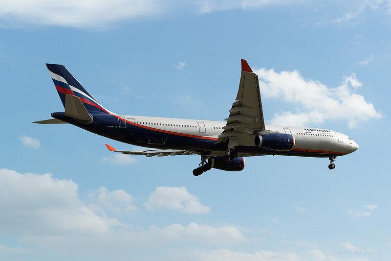 Airbus A330-343 (VQ-BCU) Аэрофлот D806094