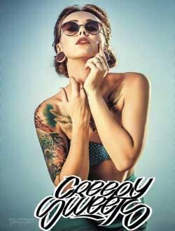 Татуированные модели CREEPYSWEETS