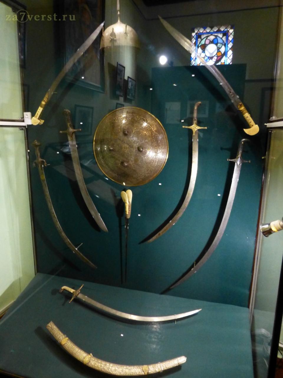 Бахчисарайский музей, оружие