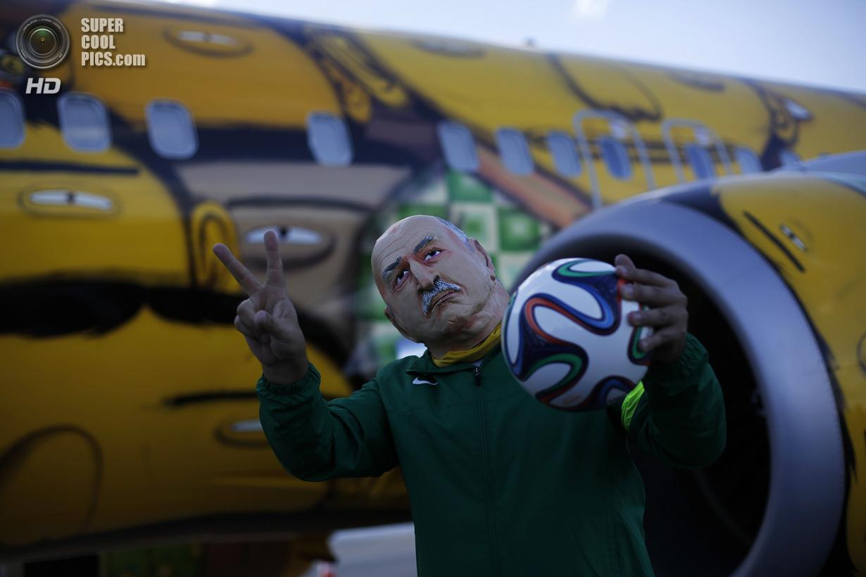 Тематический «Боинг» сборной Бразилии по футболу