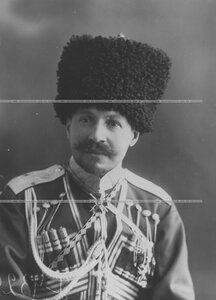 Георгий Иванович Трубецкой, князь, генерал-майор свиты, командир конвоя (1906-1914 гг.) (портрет).